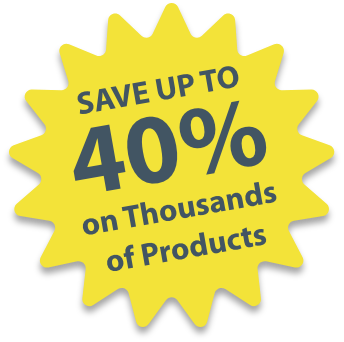 Save Up To 40% on Thousands of Products