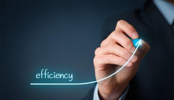 Efficiency, Efficiency, Efficiency